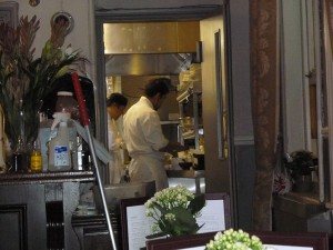 The Bear and Staff in Leicester Square London - Kitchen