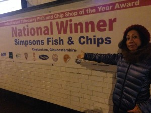 Simpson Fish and Chips, Cheltenham