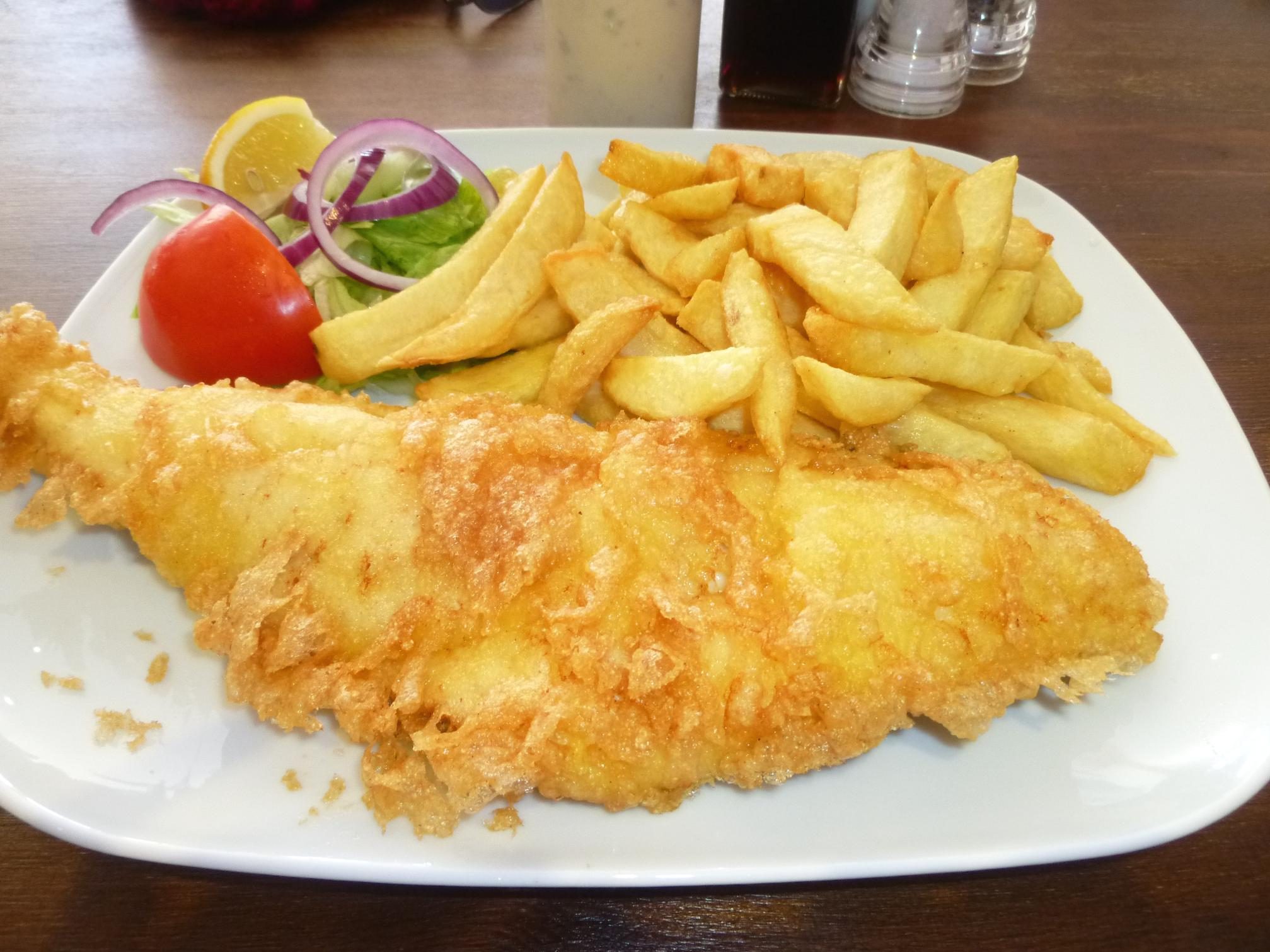Ropetackle fish chips shoreham by the sea west sussex for Fish chips